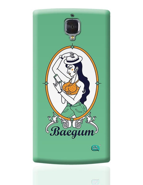 Baegum Illustration OnePlus 3 Covers Cases Online India