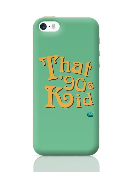 That 90's Kid iPhone 5/5S Covers Cases Online India