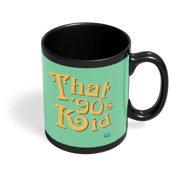 That 90's Kid Black Coffee Mug Online India