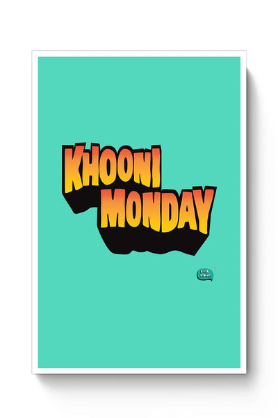 Buy Khooni Monday  Poster