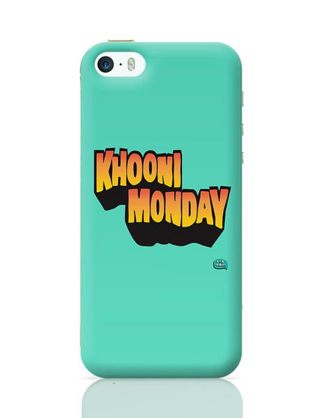 Khooni Monday  iPhone 5/5S Covers Cases Online India