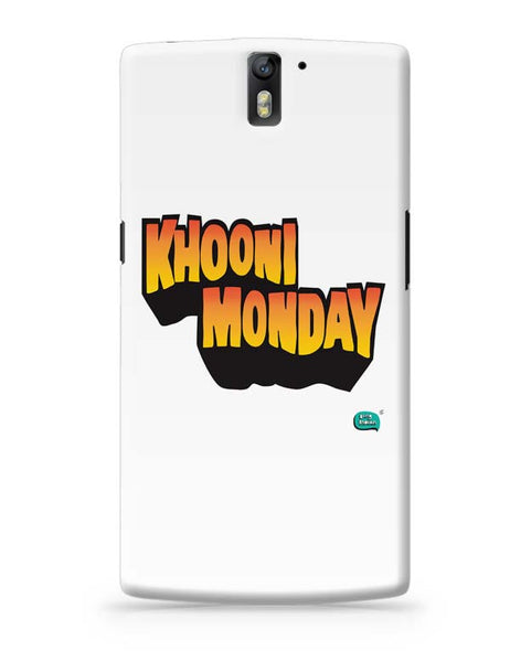 Khooni Monday  OnePlus One Covers Cases Online India