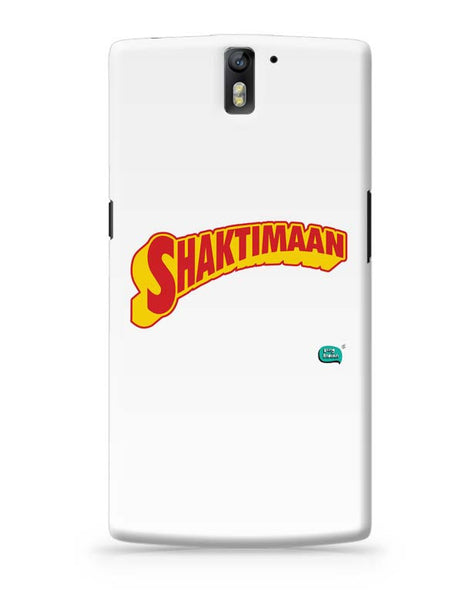 Shaktimaan  OnePlus One Covers Cases Online India