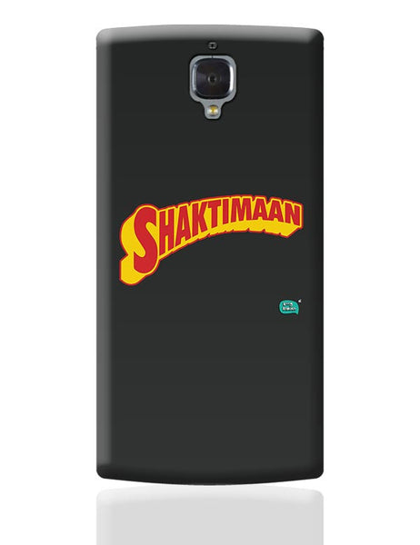 Shaktimaan  OnePlus 3 Covers Cases Online India