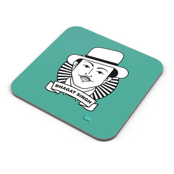 Bhagat Singh Sketch Coaster Online India