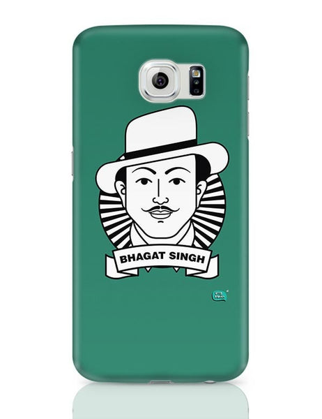 Bhagat Singh Sketch Samsung Galaxy S6 Covers Cases Online India