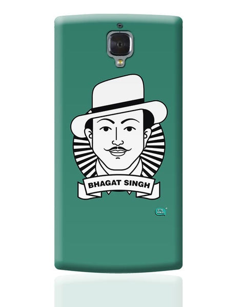 Bhagat Singh Sketch OnePlus 3 Covers Cases Online India