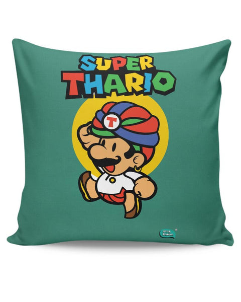 Super Thario Super mario Parody  Cushion Cover Online India