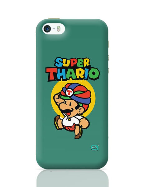 Super Thario Super mario Parody  iPhone 5/5S Covers Cases Online India