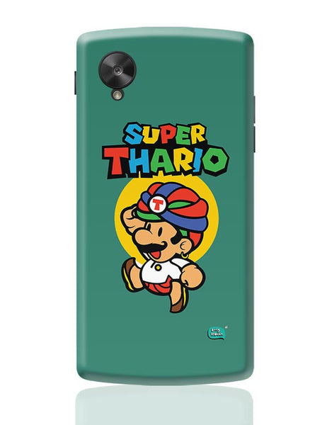 Super Thario Super mario Parody  Google Nexus 5 Covers Cases Online India