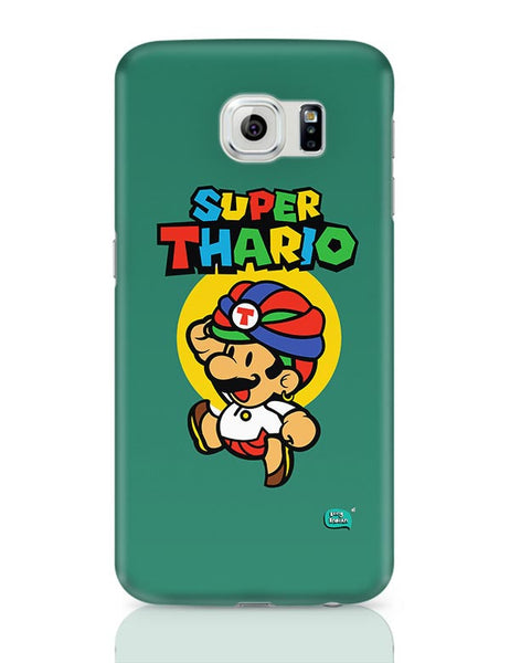Super Thario Super mario Parody  Samsung Galaxy S6 Covers Cases Online India