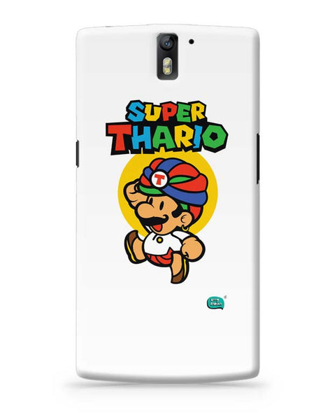 Super Thario Super mario Parody  OnePlus One Covers Cases Online India