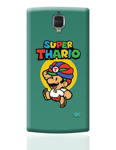 Super Thario Super mario Parody  OnePlus 3 Covers Cases Online India