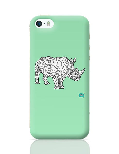 Rare Rhinocorous Portrait iPhone 5/5S Covers Cases Online India