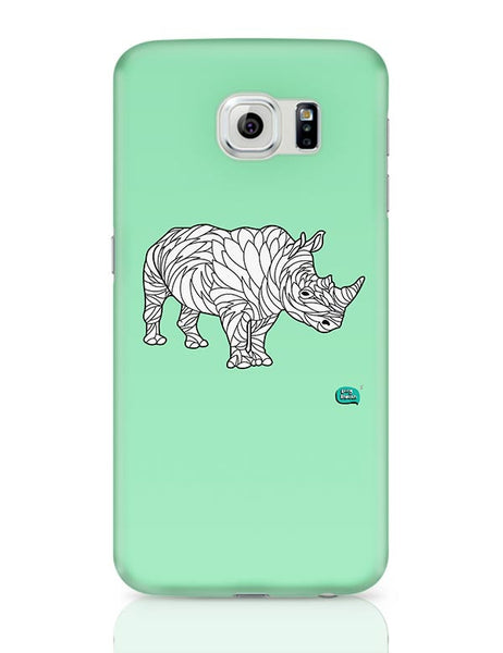 Rare Rhinocorous Portrait Samsung Galaxy S6 Covers Cases Online India