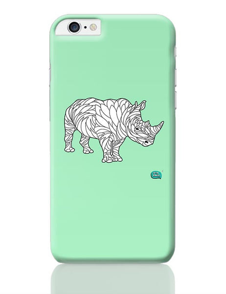 Rare Rhinocorous Portrait iPhone 6 Plus / 6S Plus Covers Cases Online India