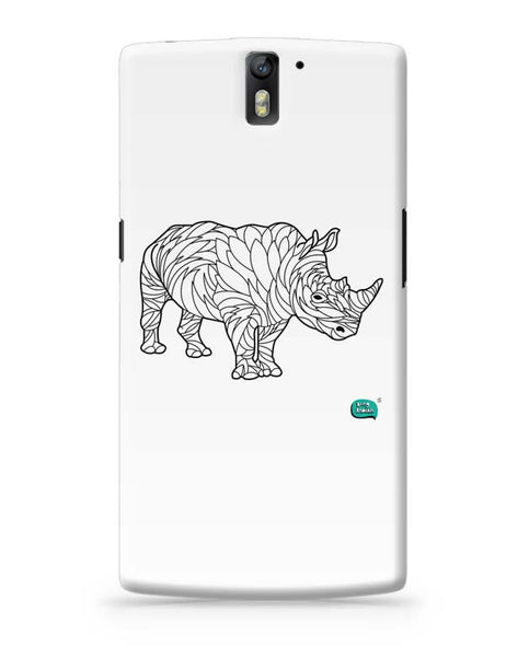 Rare Rhinocorous Portrait OnePlus One Covers Cases Online India
