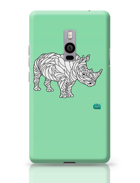 Rare Rhinocorous Portrait OnePlus Two Covers Cases Online India