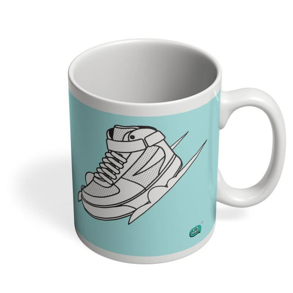 Sport Shoes Illustration Coffee Mug Online India