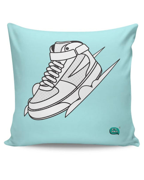 Sport Shoes Illustration Cushion Cover Online India