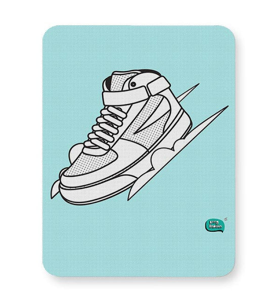 Sport Shoes Illustration Mousepad Online India