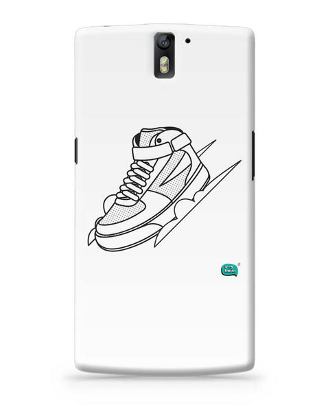 Sport Shoes Illustration OnePlus One Covers Cases Online India