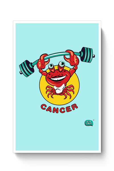 Cancer Zodiac Sign Digital Art Poster Online India