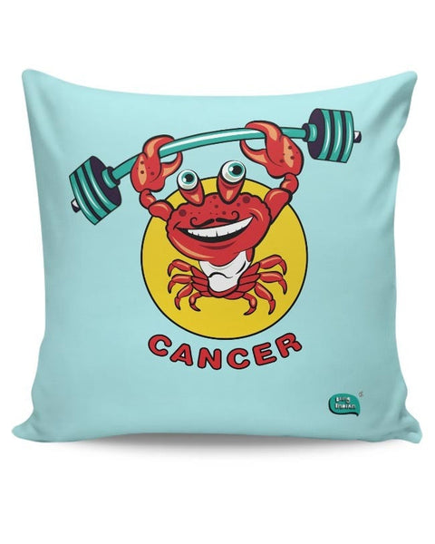 Cancer Zodiac Sign Digital Art Cushion Cover Online India