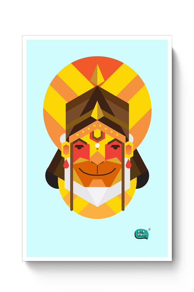 Hanuman JI | Illustration Poster Online India