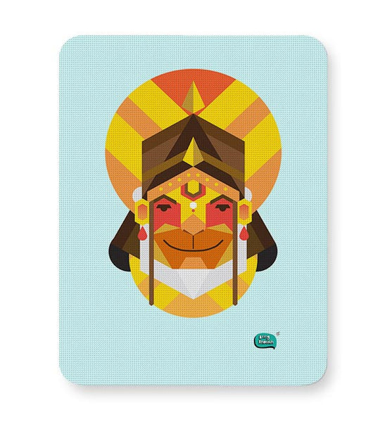 Hanuman JI | Illustration Mousepad Online India