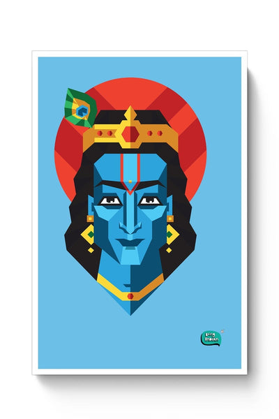 Buy Being Indian, God,Digital Art, Quirky Poster