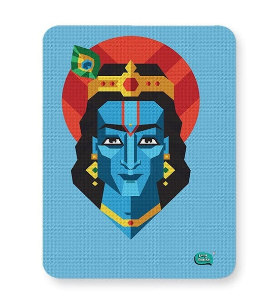 Being Indian Lord Krishna Mousepad Online India
