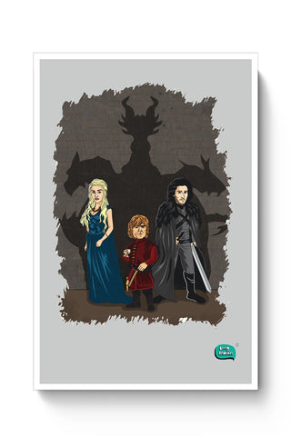 Being Indian Targaryen Family Poster Online India
