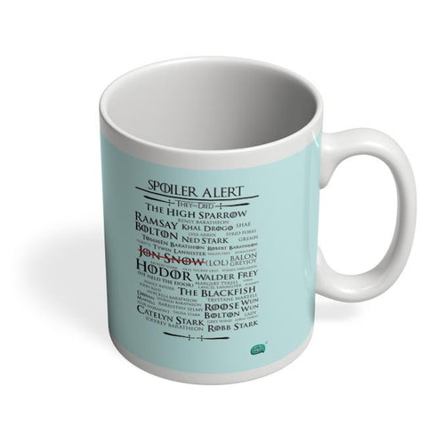 Being Indian Spoiler Alert | They All Died Got Coffee Mug Online India