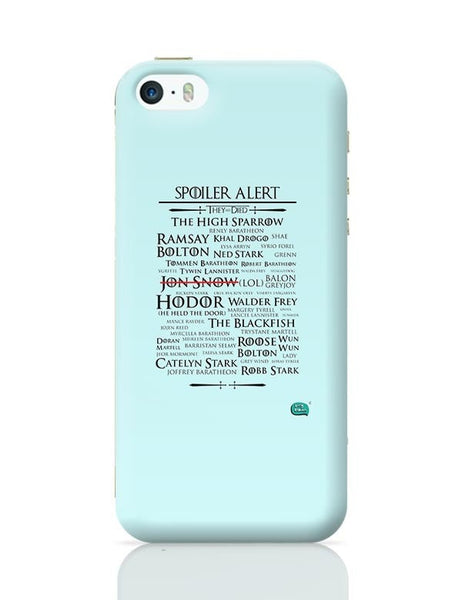 Being Indian Spoiler Alert | They All Died Got iPhone 5/5S Covers Cases Online India
