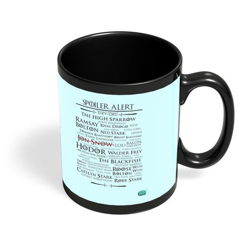 Being Indian Spoiler Alert | They All Died Got Black Coffee Mug Online India