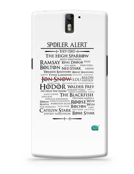 Being Indian Spoiler Alert | They All Died Got OnePlus One Covers Cases Online India