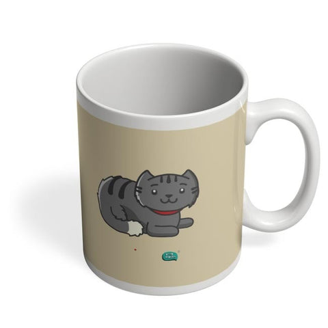Being Indian Fluffy Cat  Coffee Mug Online India