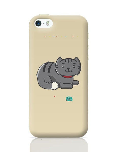 Being Indian Fluffy Cat  iPhone 5/5S Covers Cases Online India