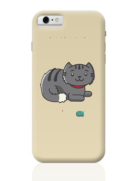 Being Indian Fluffy Cat  iPhone 6 6S Covers Cases Online India