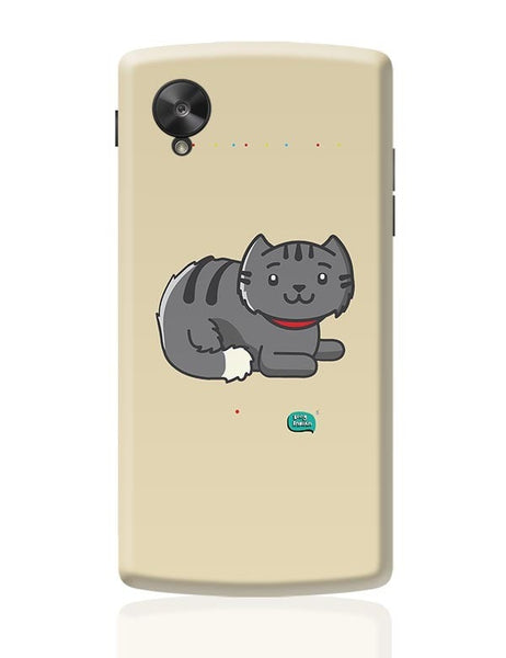 Being Indian Fluffy Cat  Google Nexus 5 Covers Cases Online India