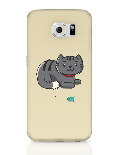 Being Indian Fluffy Cat  Samsung Galaxy S6 Covers Cases Online India