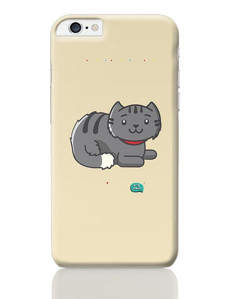Being Indian Fluffy Cat  iPhone 6 Plus / 6S Plus Covers Cases Online India
