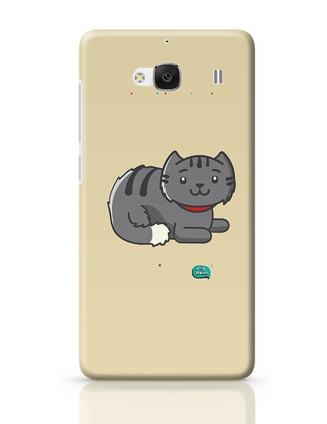 Being Indian Fluffy Cat  Redmi 2 / Redmi 2 Prime Covers Cases Online India