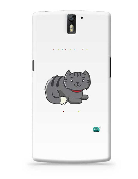 Being Indian Fluffy Cat  OnePlus One Covers Cases Online India