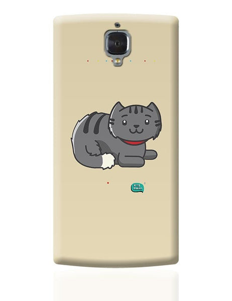 Being Indian Fluffy Cat  OnePlus 3 Covers Cases Online India