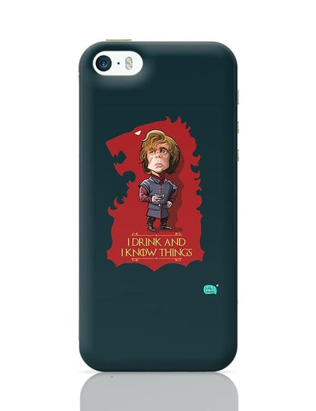 Being Indian I Drink And I Know Things iPhone 5/5S Covers Cases Online India