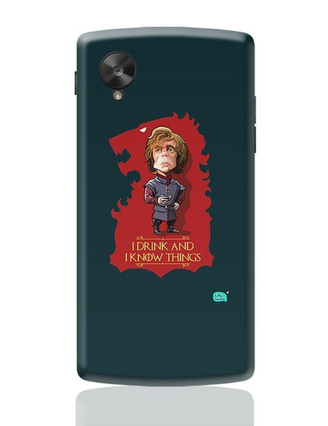 Being Indian I Drink And I Know Things Google Nexus 5 Covers Cases Online India