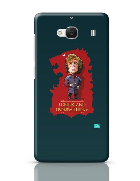 Being Indian I Drink And I Know Things Redmi 2 / Redmi 2 Prime Covers Cases Online India