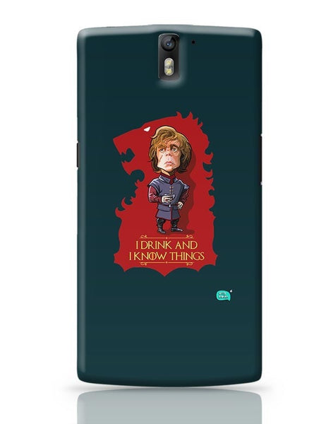 Being Indian I Drink And I Know Things OnePlus One Covers Cases Online India